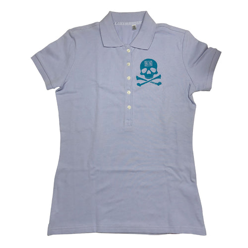 BONES WOMENS FITTED POLO IN LILAC