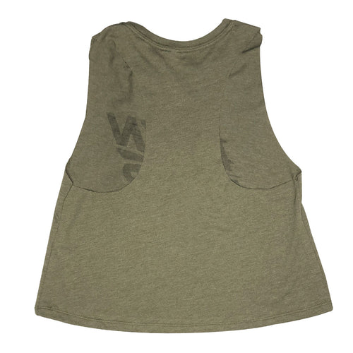 Electric Womens Tank in Olive Heather