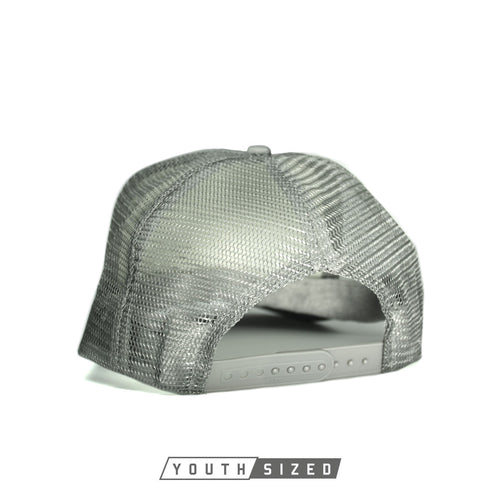 RIZNWILD | Youth trucker hat in silver