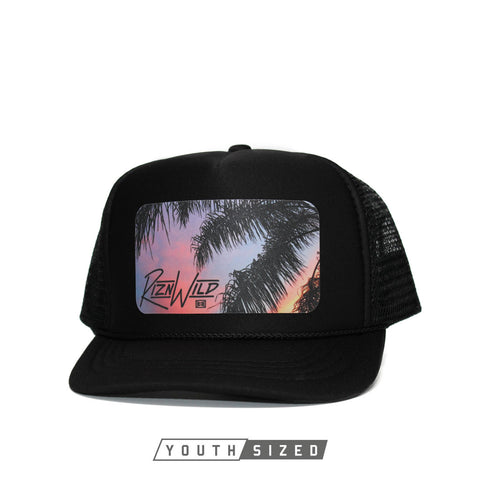 Frost Beanie in Black/White