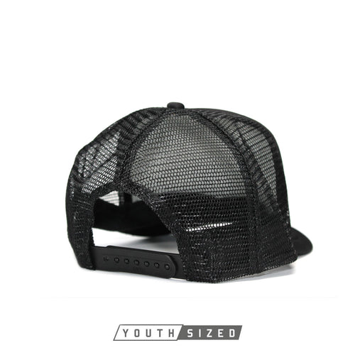 RIZNWILD | Youth curved bill trucker hat adjustable