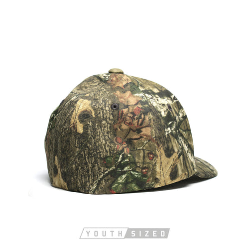 Liberty Youth Flexfit Mossy Oak Curved Bill Hat
