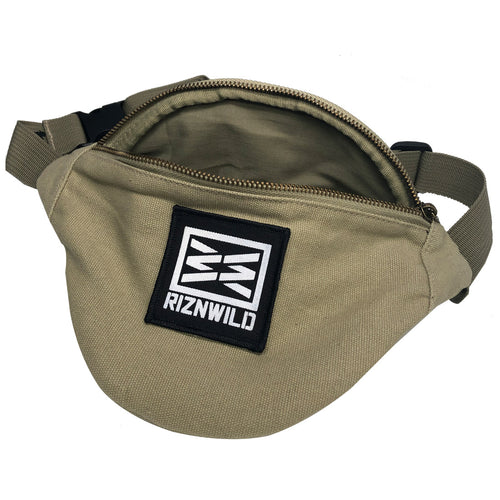 RIZNWILD fanny pack canvas high quality
