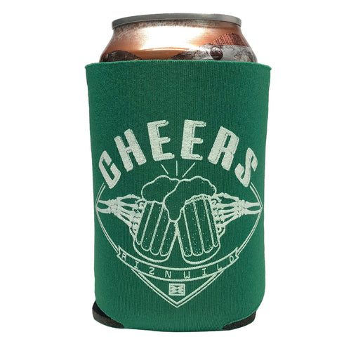 RIZNWILD | Cheers koozies in Kelly Green
