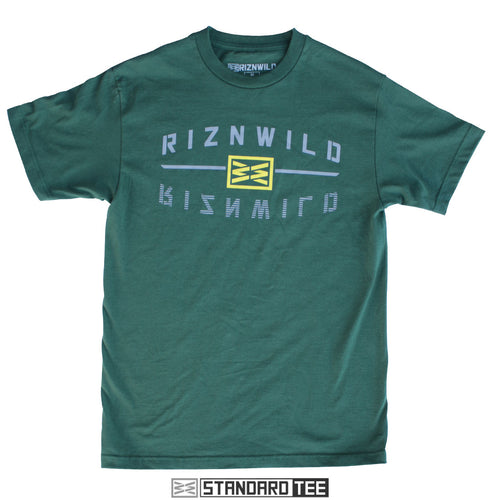 RIZNWILD | reflect Forrest green men's tee Oregon colors