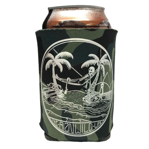 The Riznwild Life Koozie in Camo