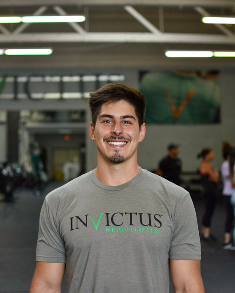 Invictus Weightlifting T-Shirt - Men's - Gray