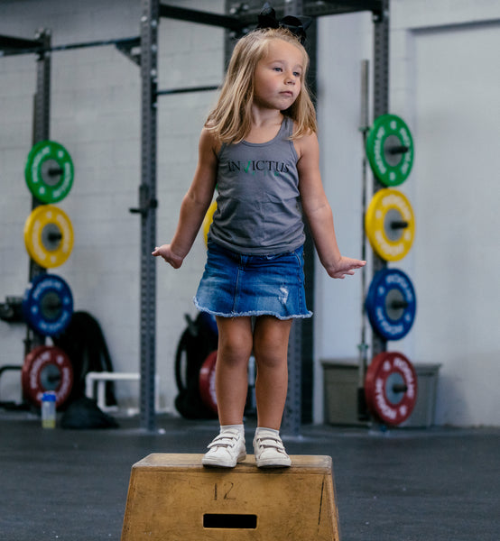 Invictus Girls - Toddler Racerback Tank Tap