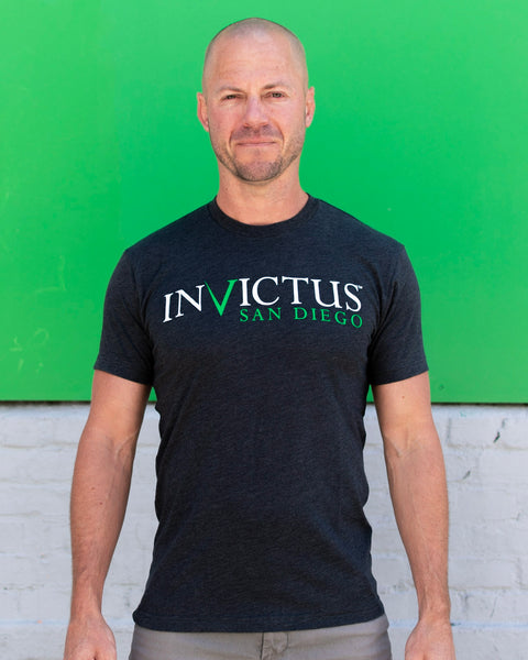 Invictus Battle Tested Duel-Blend T-Shirt - Men's - Grey