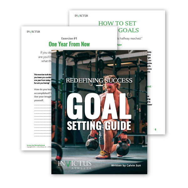 [eBook] Invictus Redefining Success Goal Setting Guide