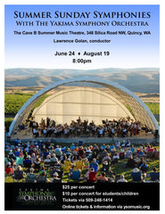 Summer Sunday Symphonies with the Yakima Symphony Orchestra
