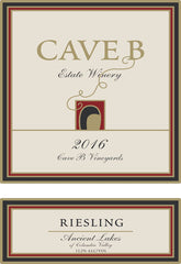 2016 Cave B Riesling