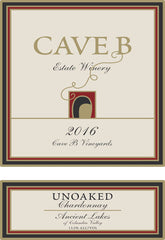 2016 Cave B Unoaked Chardonnay