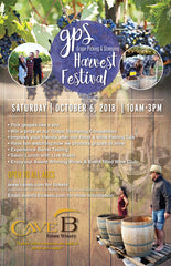 General Admission Price- GPS (grape picking & stomping) Harvest Festival 2018