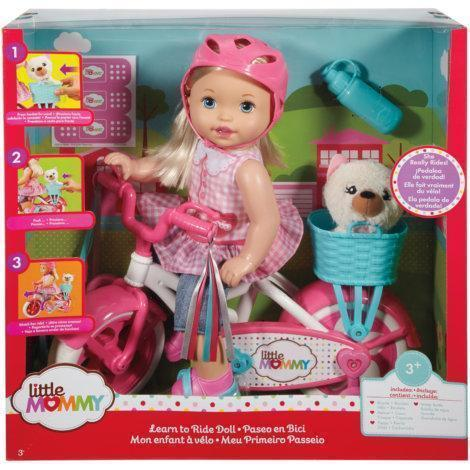 Little Mommy Learn To Ride Doll