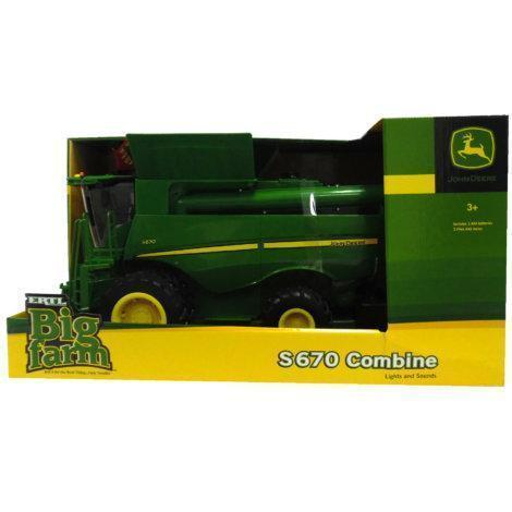 Big Farm 1/16 Scale John Deere S670 Combine