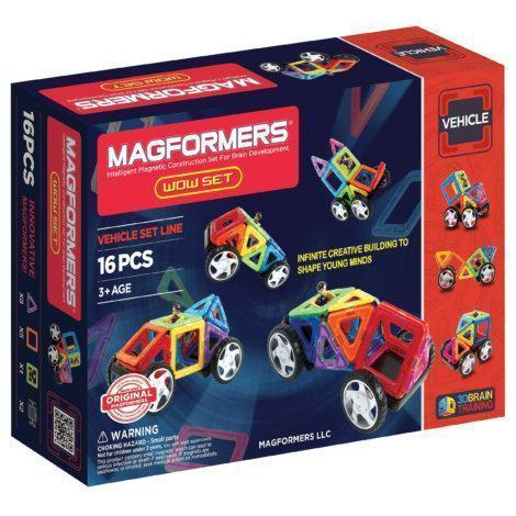 Magformers Wow! 16 Pc. Set