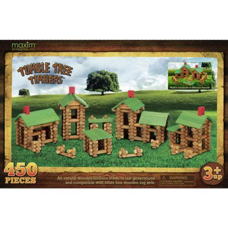 Maxim Tumble Tree Timbers Wooden Building Set