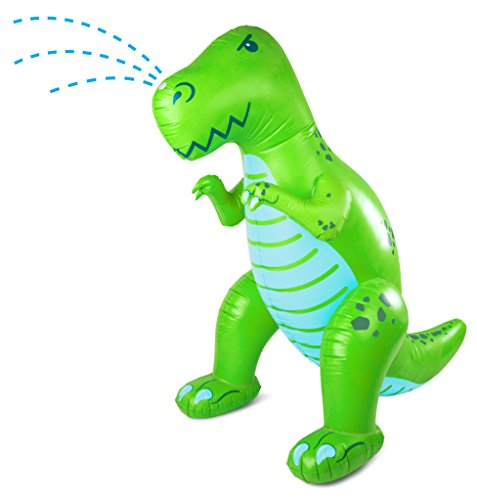 BigMouth Inc Dinosaur Yard Inflatable Sprinkler