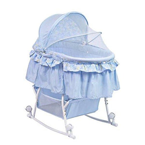 Dream Me Portable Bassinet Blue