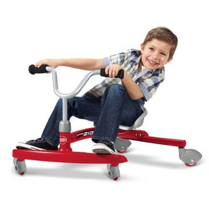 Radio Flyer Ziggle Ride-On, Red