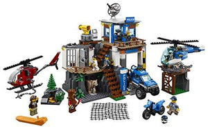 LEGO Mountain Police Headquarters Building 60174