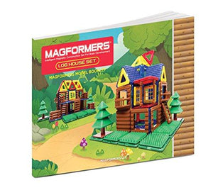 Magformers Log Cabin, 87 Piece Set