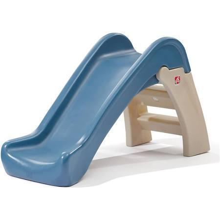 Step2 843999 Play & Fold Jr. Slide, Multicolor