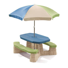 Step2 Naturally Playful Picnic Table and Umbrella