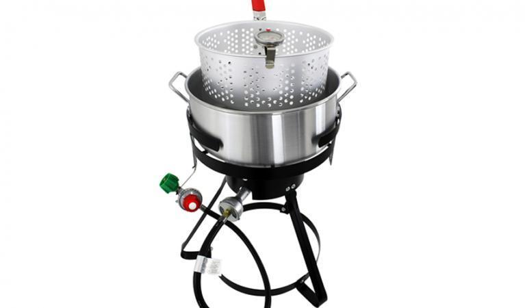 Chard 10.5-Quart 1-Burner Fish Propane Deep Fryer