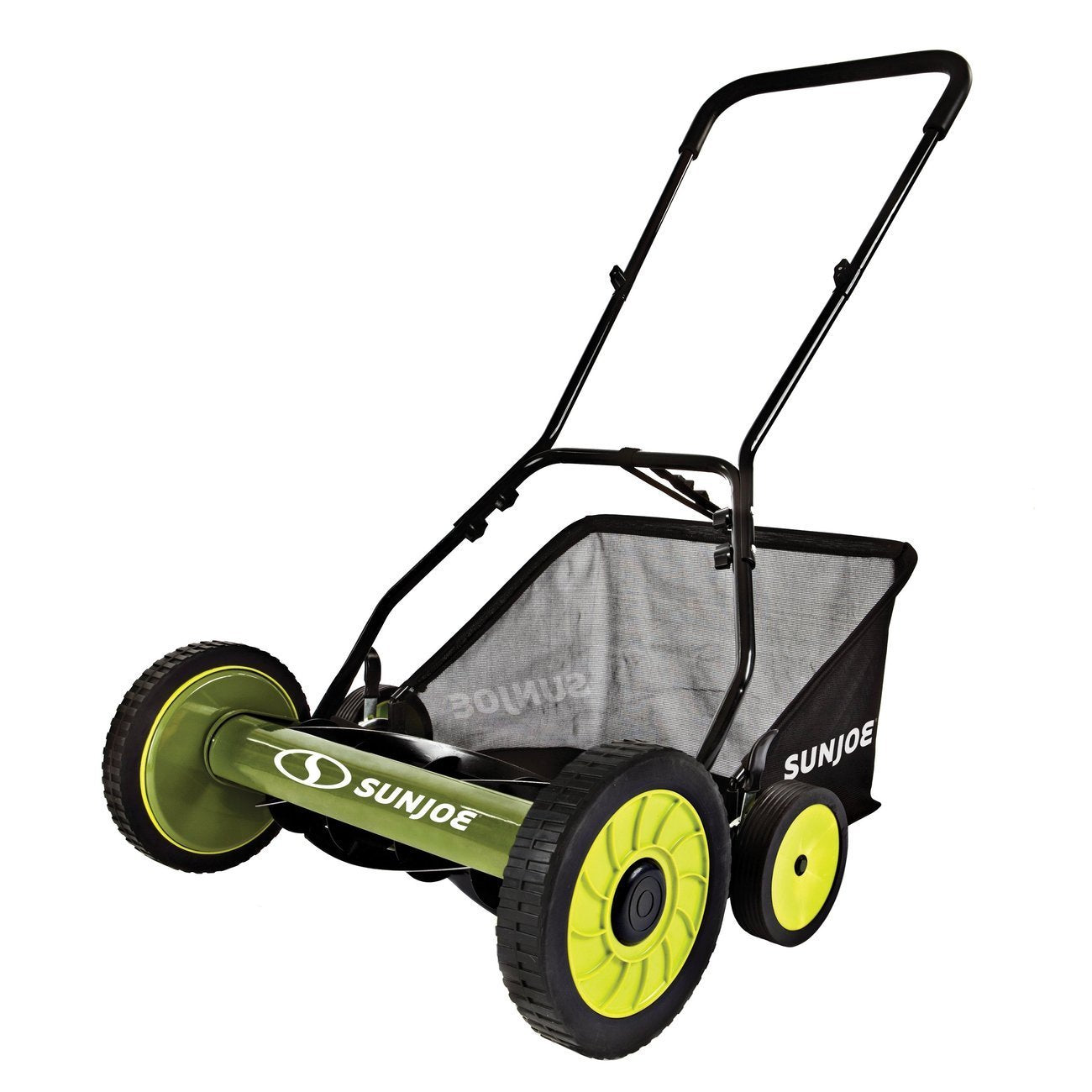 Sun Joe 20 in. Manual Reel Mower with Grass Catcher