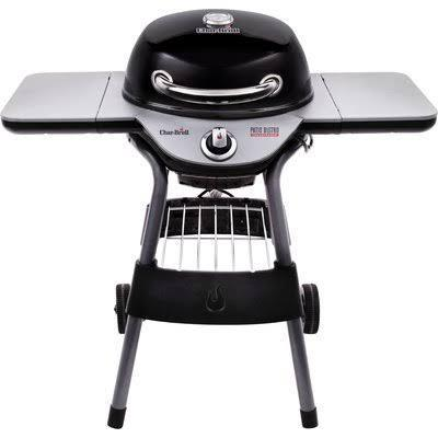"Char-Broil 40"" Patio Bistro TRU-Infrared Portable Electric Grill with Side Shelves Finish: Black"