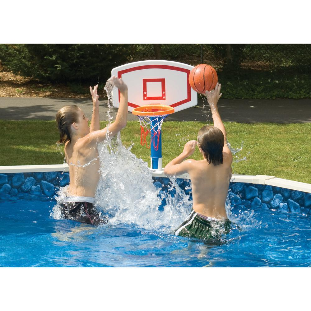 Above Ground Pool Jammin Basketball Set