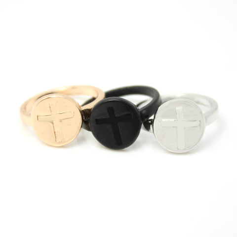 Plated Zinc Metal Alloy Rings