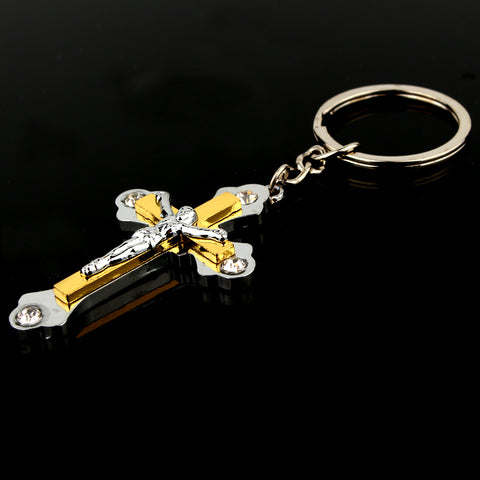 Charm Jesus Cross Alloy Pendant
