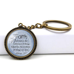 Psalm 46:10 Key Chain