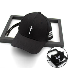 Embroidery Cross Cap