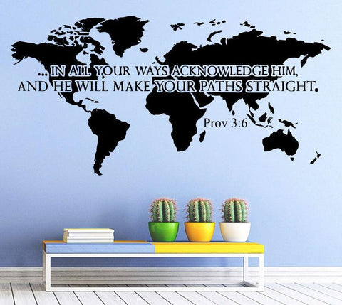 Removeable Wall Sticker Bible Verses