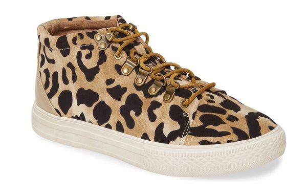 Band of Gypsies Leopard High Top Sneaker
