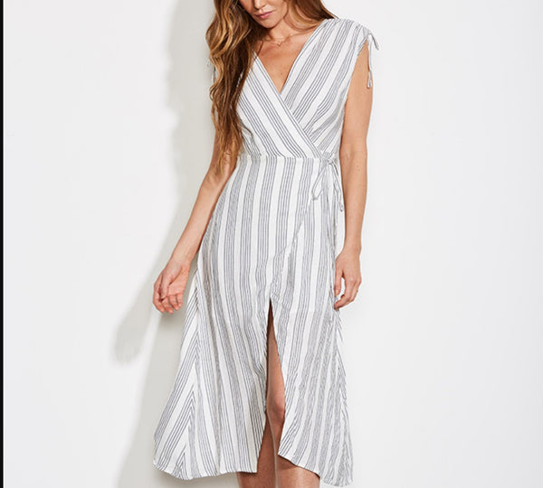 Pershing Wrap Dress