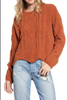 BLANKNY Terracotta sweater