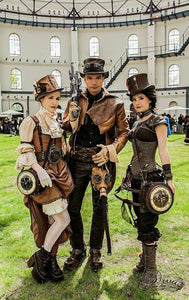 Amazing steampunk fashion products, jewelry, clothing, decor and gadgets for cosplay or not...