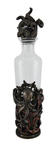 Steampunk Octopus Glass