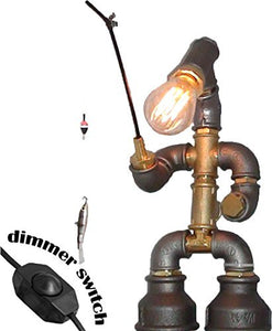 Handmade - Steampunk Pipe Table Lamp