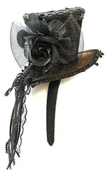 Steampunk Mini Top Hat Headband