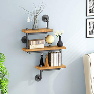 Pipe Wall Shelf