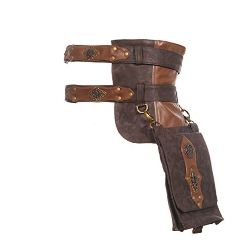 Steampunk Leather Utility Belt