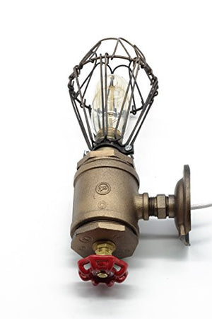 "Loft Style Sconce ""Old Bill"""