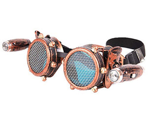 Barbed Wire Steampunk Goggles