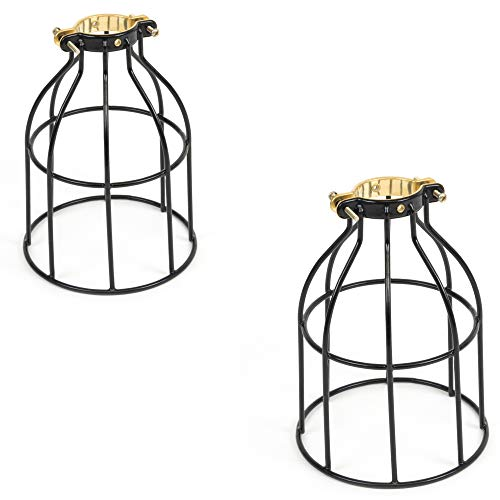 Metal Wire Cage for Hanging Pendant Lighting